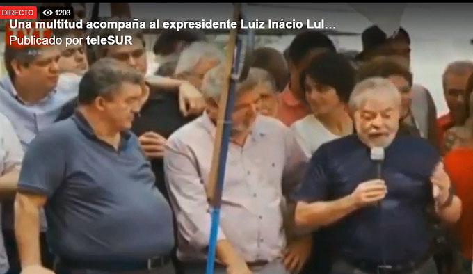 Prisión de Lula se mantiene en la incógnita (+ fotos y video)
