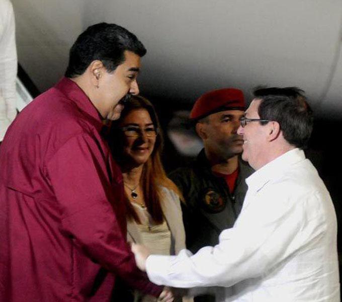 Llegó a Cuba el presidente Maduro para encuentro con Díaz-Canel