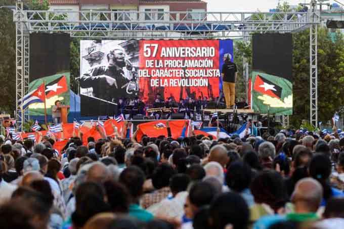 Juventud cubana ratificó su compromiso con el socialismo