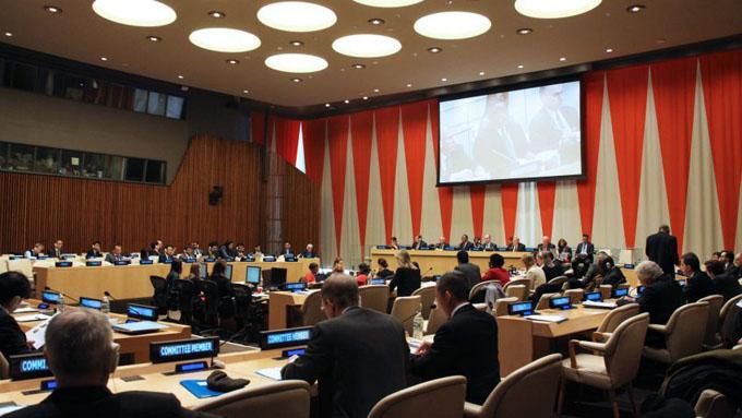 Fuerte presencia de Cuba en el Consejo Económico y Social de la ONU