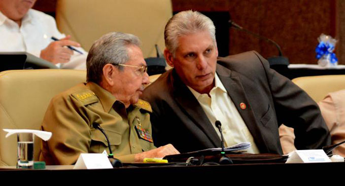 Imágenes que revelan la trayectoria política de Miguel Díaz Canel, Presidente del Consejo de Estado y de Ministros