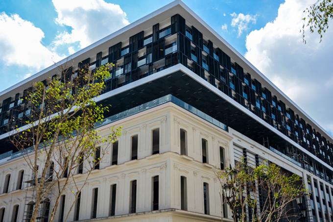 Acondicionan hotel Packard para su conclusión en agosto próximo
