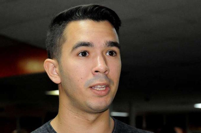 Diputado ratifica respaldo de la juventud a proceso social cubano (+ video)