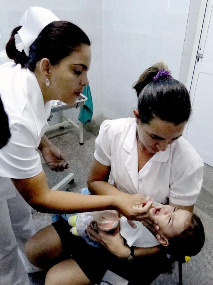 Inició en Granma segunda etapa de vacunación antipolio