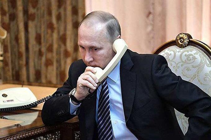 Raúl y Díaz-Canel conversan por teléfono con Vladimir Putin