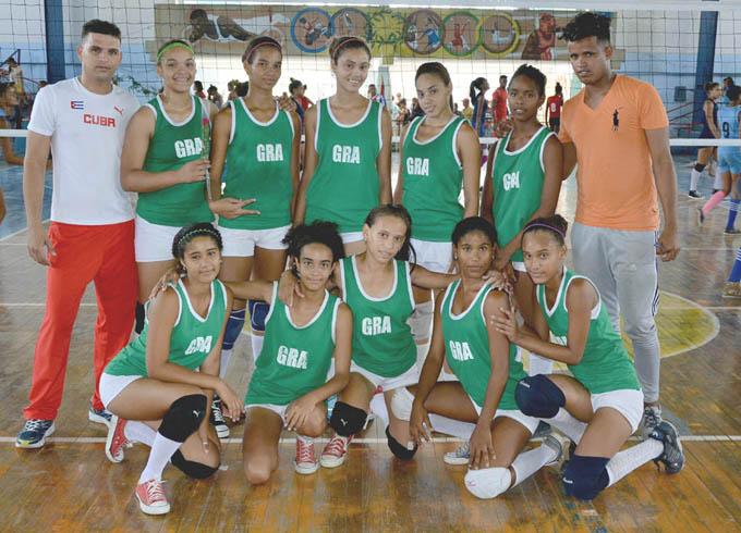 Voleibolistas granmenses dominaron clasificatorio oriental femenino