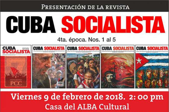 Presentado sitio web de Cuba Socialista