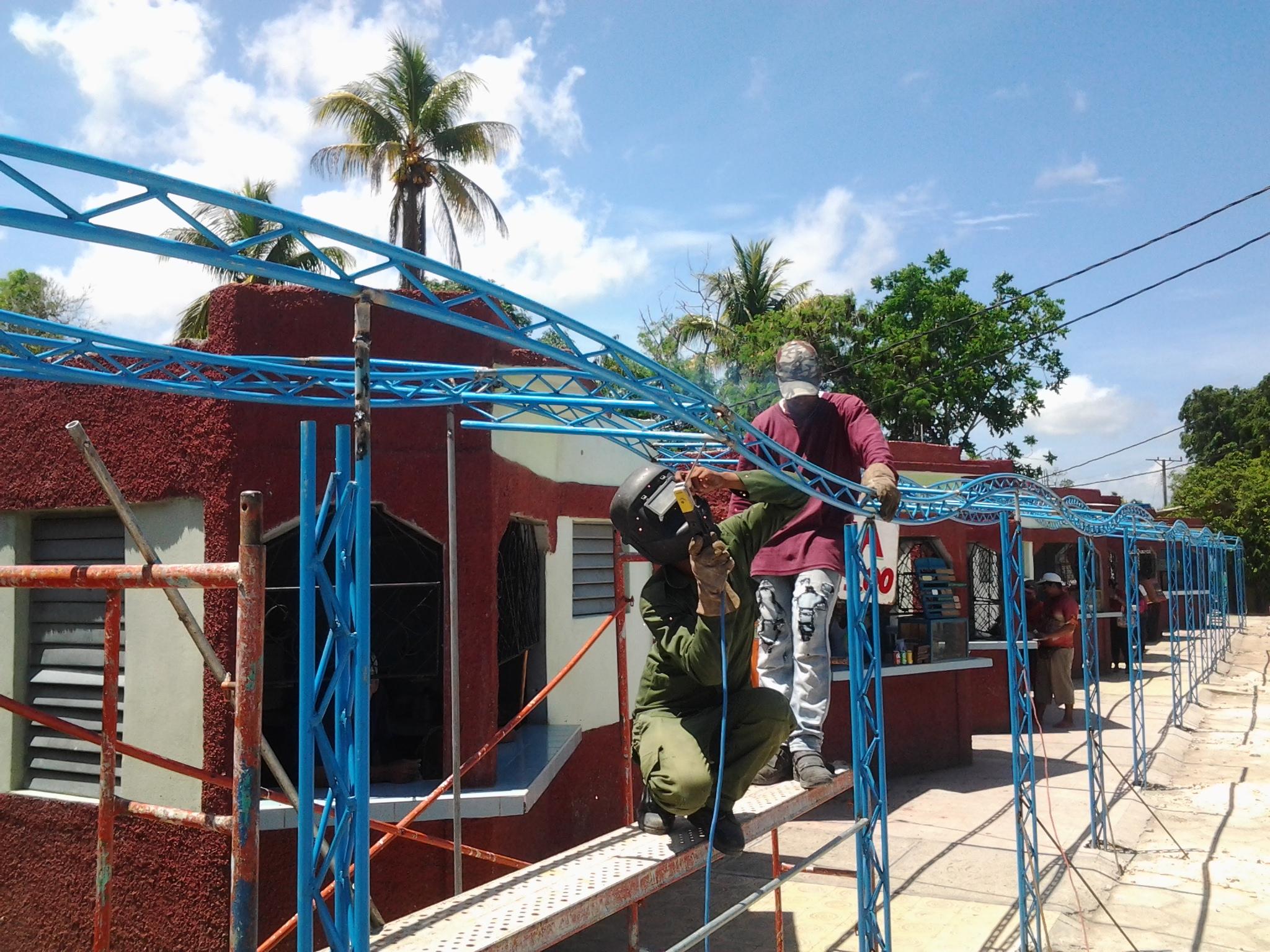 Reparan obras sociales con motivo de aniversario de gesta independentista cubana