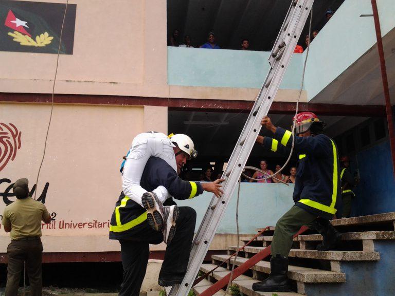 Se desarrolla ejercicio Popular para las acciones en casos de Desastres, Meteoro 2019