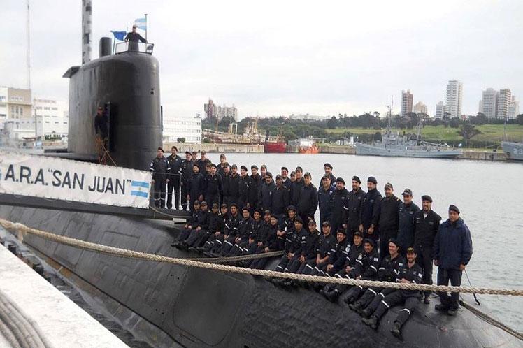 A medio año de desaparecer, homenaje a tripulantes del ARA San Juan