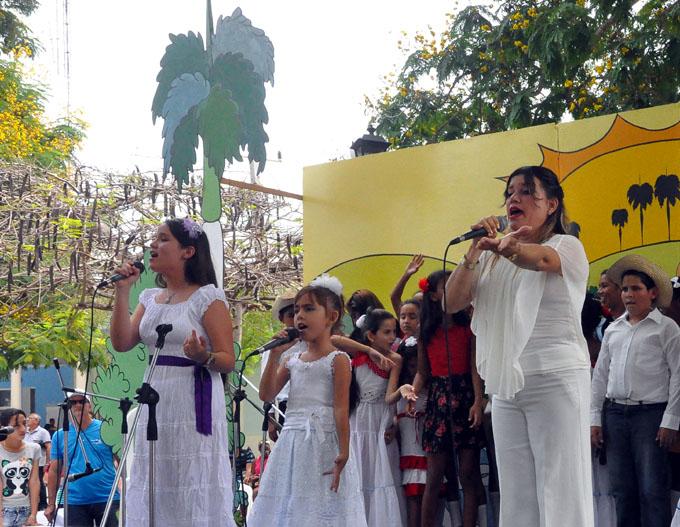 Pioneros bayameses cantarán a la cubanía