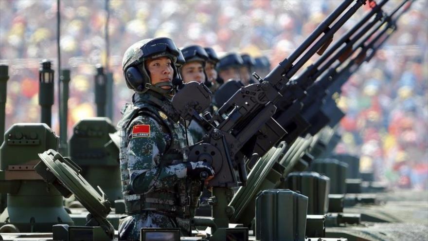 China elevará capacidad defensiva ante provocaciones de EE.UU.