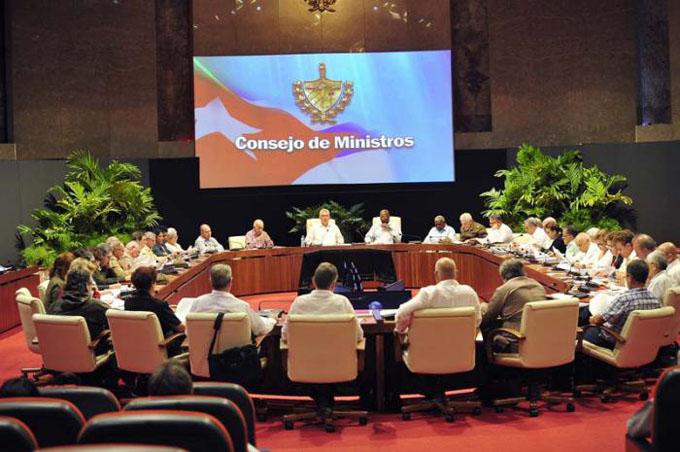 Economía cubana en la agenda del Consejo de Ministros