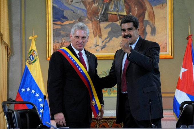 El apoyo de Cuba a la Revolución Bolivariana es y será siempre invariable