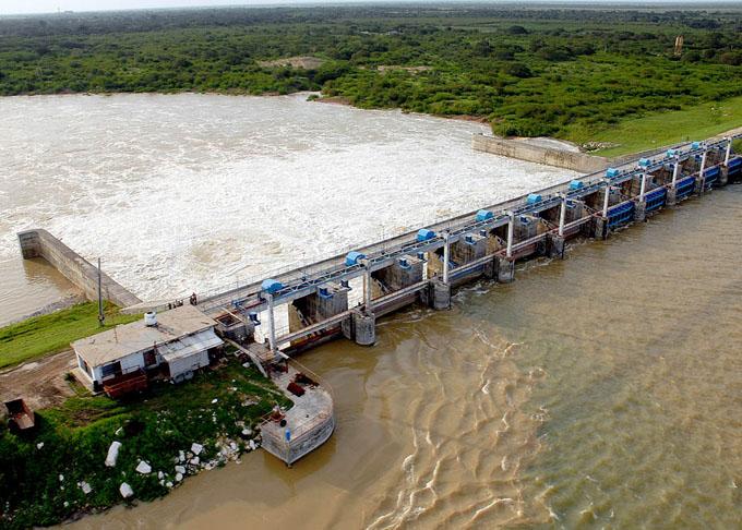 Bajo vigilancia hidrológica represas de Granma