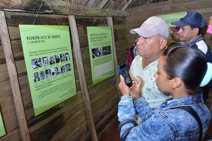 En Altos de Mompié se reestructuró la guerra (+ fotos)