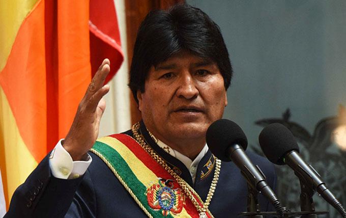 Evo Morales reconoce fracaso de política estadounidense en Venezuela