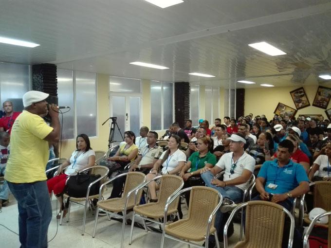 En Bayamo Primer activo de jóvenes granmenses del Ministerio de Energía y Minas (+ fotos)
