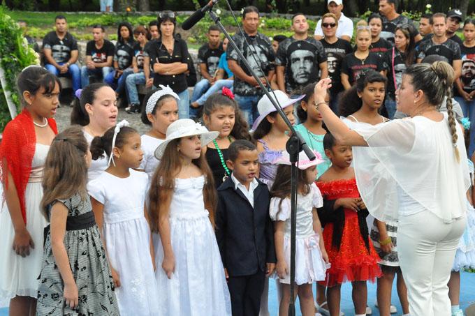 Dos Ríos, una reverencia a Martí en el aniversario 123 de su muerte (+ fotos)