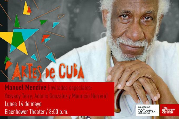 Performance de Mendive en Artes de Cuba