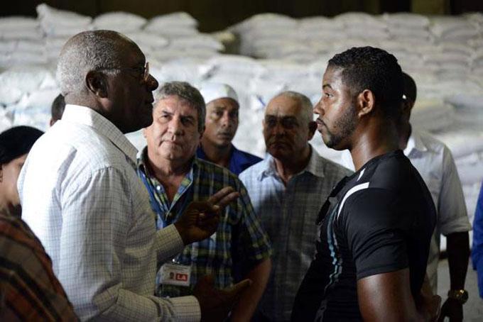 Recorre Valdés Mesa objetivos económicos en La Habana