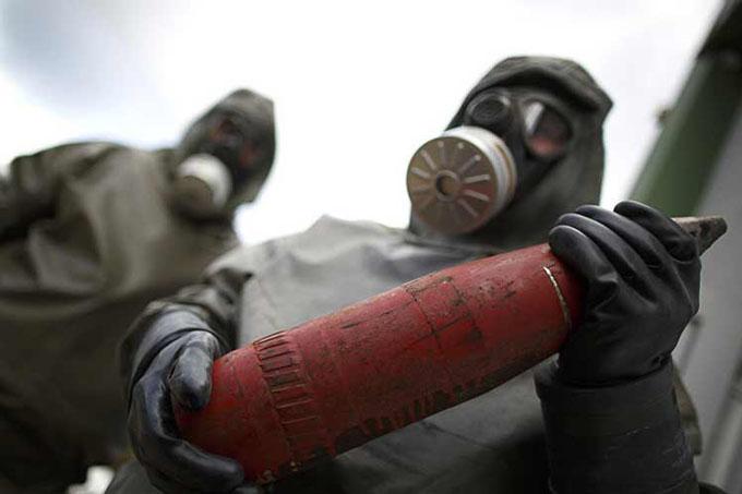 Revelan planes de Alemania Occidental para el uso de armas químicas