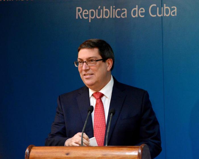 Comienza gira por Europa del ministro cubano de Relaciones Exteriores