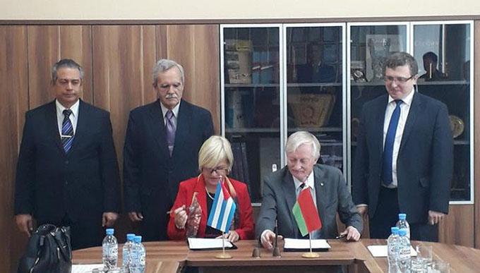 Fortalecerán Cuba y Belarús colaboración científica