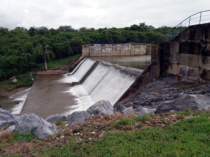 Embalses de Cuba al 87,4 por ciento de llenado tras intensas lluvias