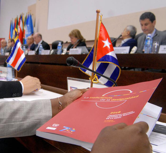Cuba se compromete a trabajar junto a la Cepal por el desarrollo de la región