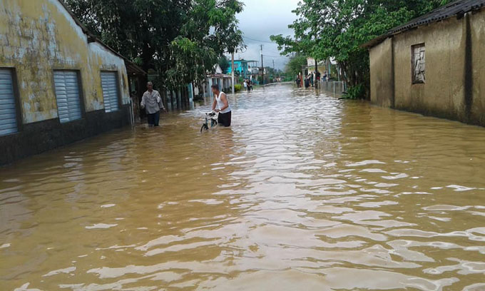 Evalúan en Cuba afectaciones por intensas lluvias (+ fotos y videos)