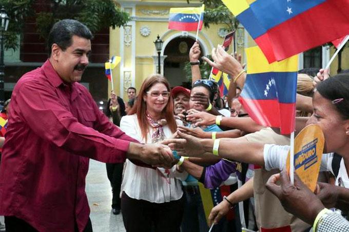 Candidato Maduro por profundizar cambios sociales en Venezuela