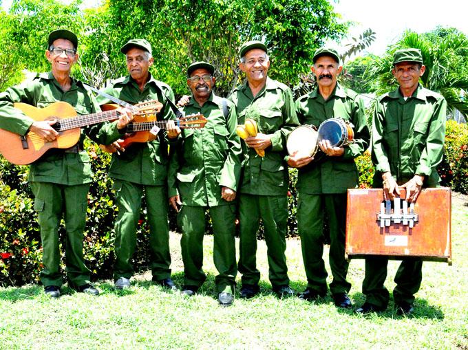 Quinteto Rebelde: Cantores de la Revolución (+ fotos)