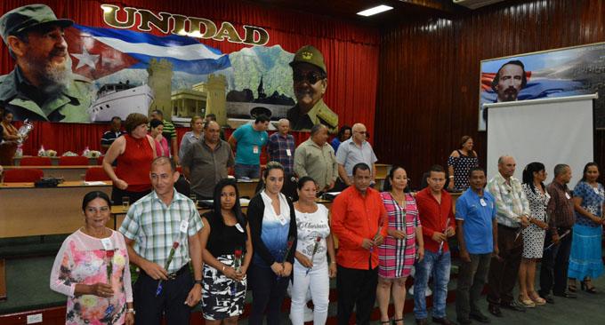 Efectúan Asamblea provincial noveno congreso de los CDR (+ fotos)