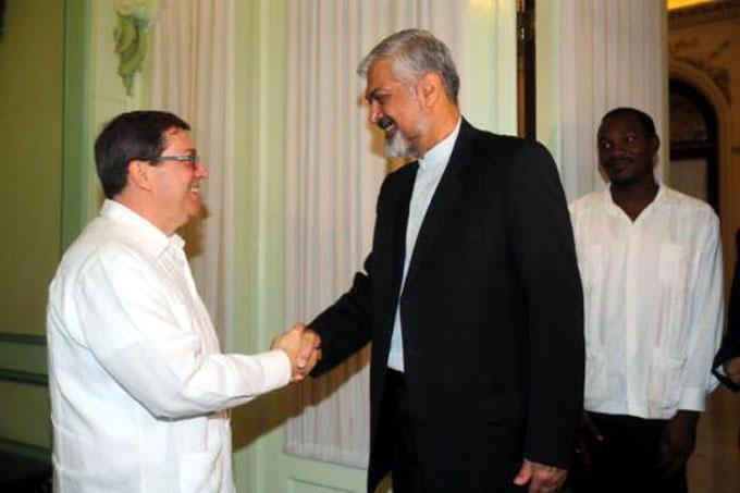 Reciben autoridades cubanas a enviado especial del presidente de Irán