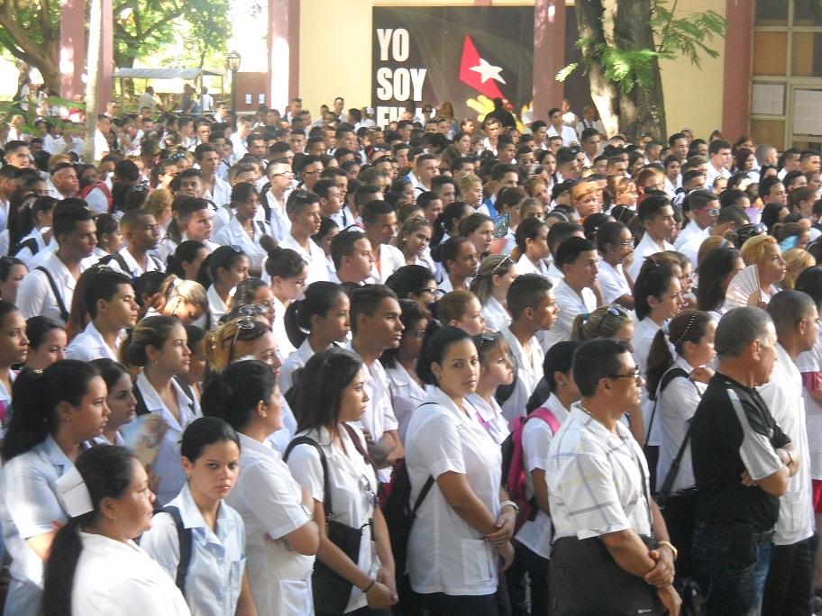 Dedican a Fidel Congreso de universitarios de las ciencias médicas de Granma