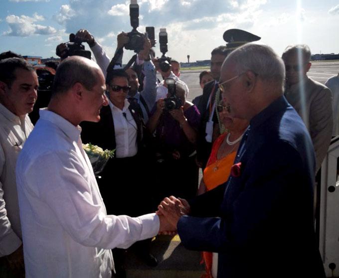 Recibirá presidente cubano a su homólogo de la India