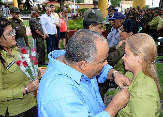 Conmemoran en Granma aniversario 57 del Ministerio del Interior (+ fotos y audio)