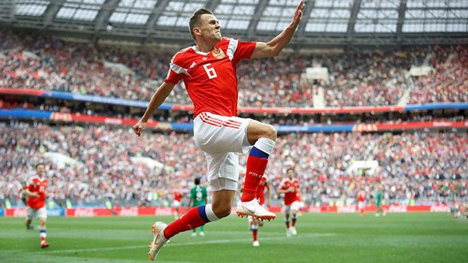 Rusia debuta con goleada en su Mundial de Fútbol (+ fotos y video)