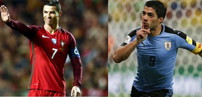 Uruguayos confiados ante Portugal, pero conscientes de su rivalidad (+ fotos y videos)