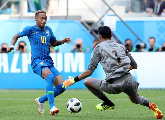 Brasil derrota a Costa Rica en Mundial de Rusia (+ fotos)
