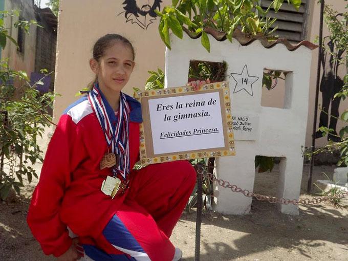 Granma domina Campeonato Nacional Juvenil de Gimnasia Rítmica (+ fotos)