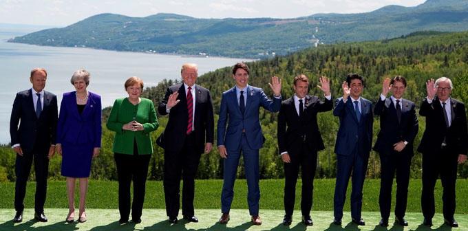 Canadá: Cumbre del G7 anunció truenos, hasta ahora pocas nueces