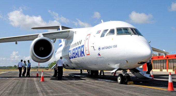 Informa Cubana de Aviación ajustes en vuelos nacionales