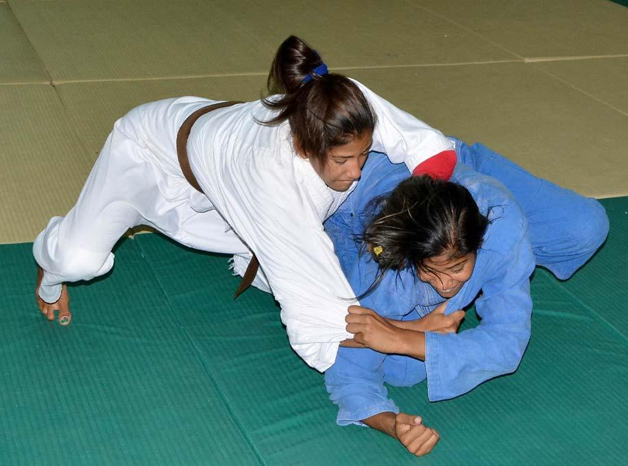De los tatamis al podio