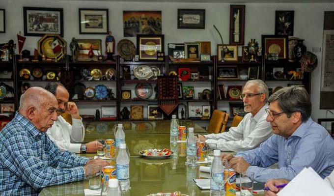 Recibió Machado Ventura a delegación del Frente Amplio de Uruguay
