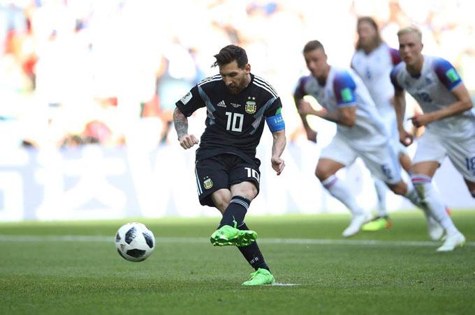 Messi y su talón de Aquiles dejan con vida a Islandia