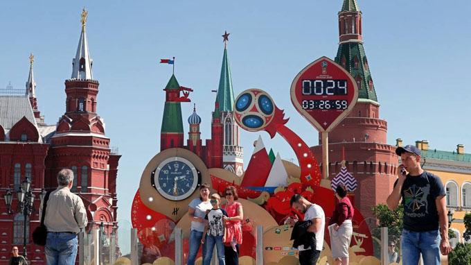 Rusia se viste de fútbol, el Mundial vuelve a la vida (+ fotos y videos)