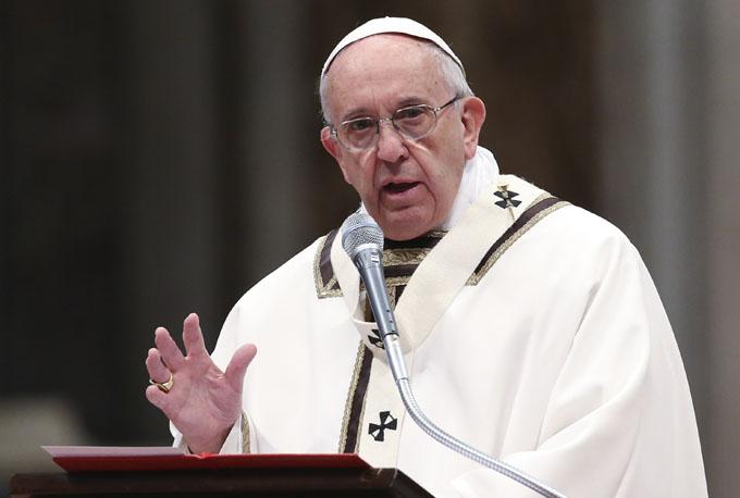 Alerta papa Francisco que los migrantes no son números, sino personas