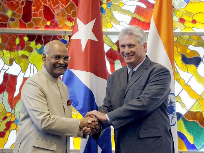 Concluye Presidente de la India su primera visita oficial a Cuba (+ fotos y video)